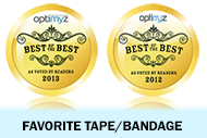 OPTIMYZ Hot List - Voted Best of the Best for FavoriteTape/Bandage